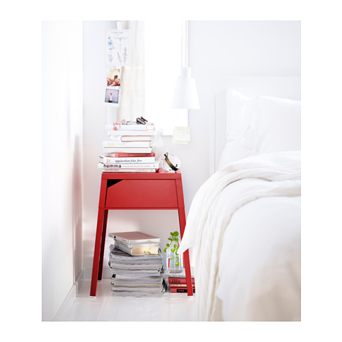 selje-bedside-table-red