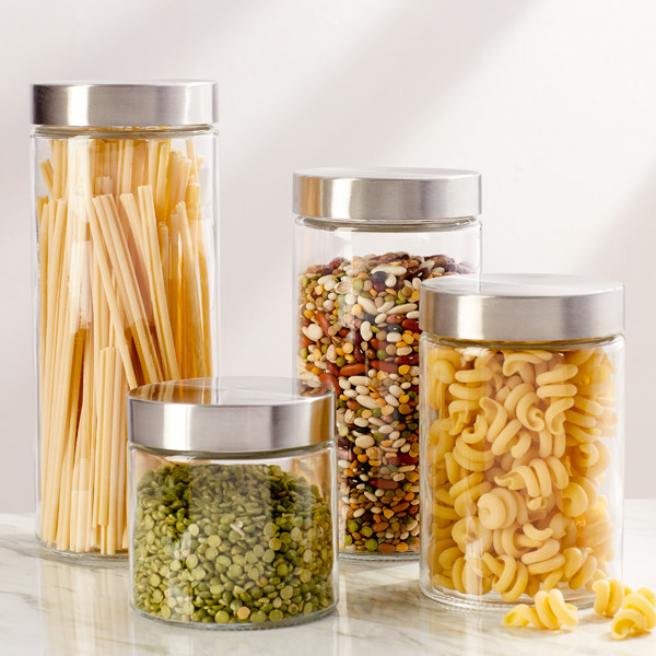 4-piece-glass-canister-set