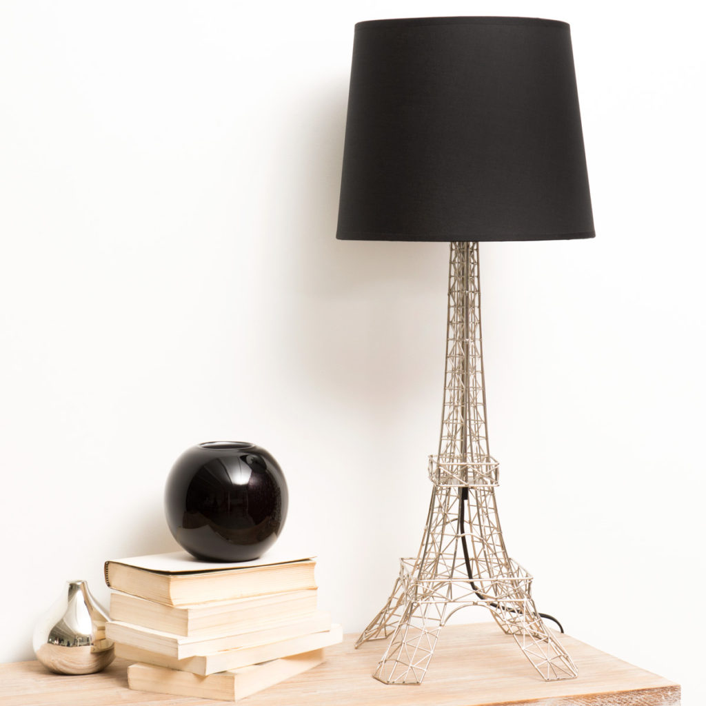 monument-tour-eiffel-metal-lamp-black-cotton-lampshade