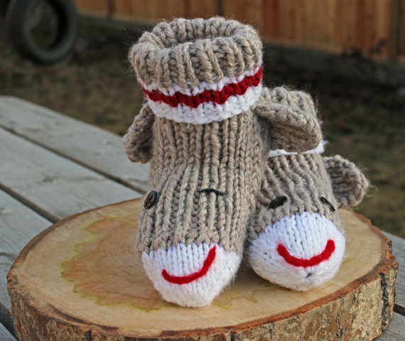 adult-sized-sock-monkey-slippers-hand-knit