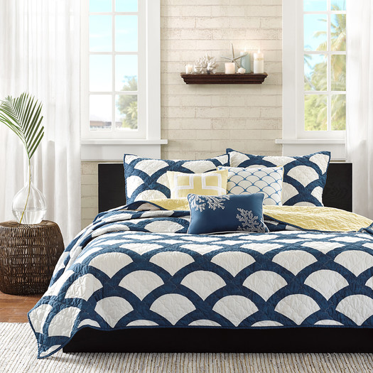 Kokomo+6+Piece+Coverlet+Set