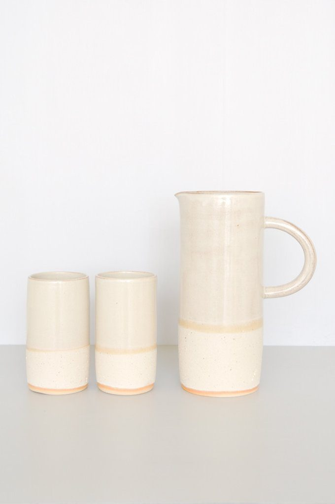koromiko-sand-pitcher-mugs-white