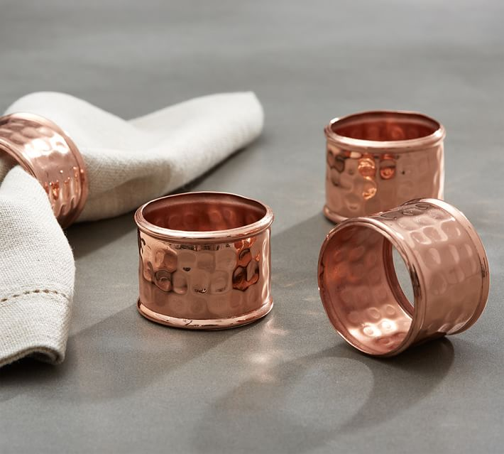 hammered-copper-napkin-ring-set-o