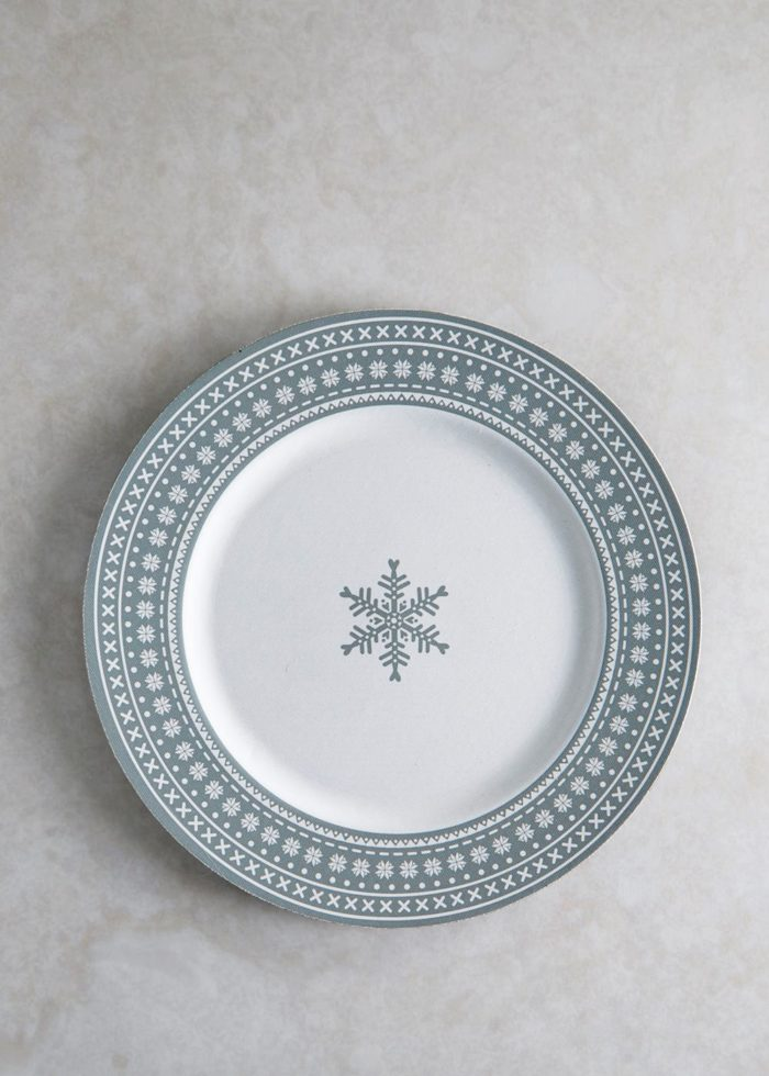 3 charger plates to complete your christmas table - Christmas Charger Plates