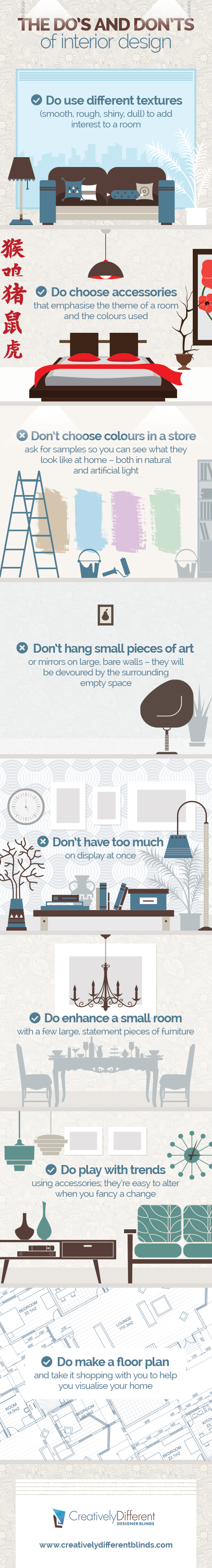 Infographic via creativelydifferentblinds